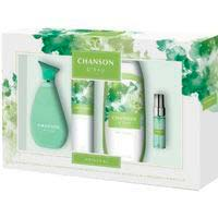 Set para mujer Colonia-Gel-Deo-Mini talla CHANSON, pack 1 ud.