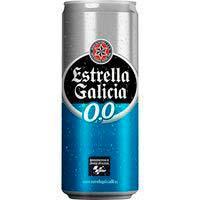 Cervesa 0,0 ESTRELLA GALÍCIA, llauna 33cl