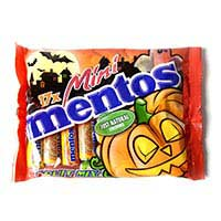 Mini fruit mix halloween MENTOS, bolsa 400 g