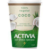 Activia bífidus Yogur de coco 100% vegetal 400g