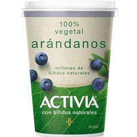 Activia bífidus Yogur de arándanos 100% vegetal 400g