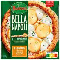 Pizza BellaNapoli4 formatgesBUITONI, caixa 425 g