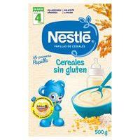Nestlé Papilla cereales sin gluten a partir de 4 meses 500g
