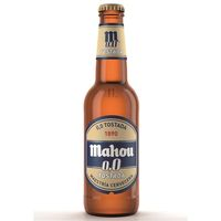 Mahou Cervesa 0,0% torrada botella 33cl