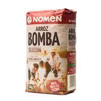 Arroz bomba NOMEN, paquete 1 kg