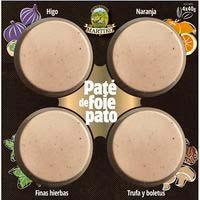 Taula de paté de foie Martiko, pack 4x40 g