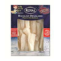 Palitos de bacalao desalado ROYAL, caja 300 g