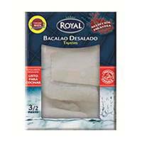Tajada bacalao desalado ROYAL, caja 350 g