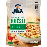 Muesly fruits secs QUAKER 600g