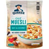 Musli de dàtils-coco QUÀQUER, paquet 600 g
