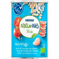 Snack de cereales-tomate bio NESTLÉ Nutripuffs, bote 35 g