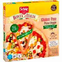 Pizza veggie ai cereali SCHÄR, caja 390 g