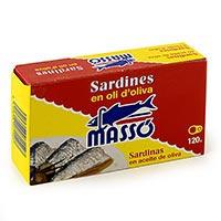 Massó Sardinas en aceite 120g