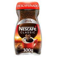 Café soluble descafeinado NESCAFÉ, frasco 300 g
