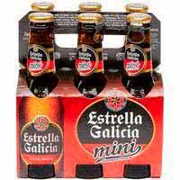 Cervesa especial ESTRELLA GALICIA,pack6x20cl