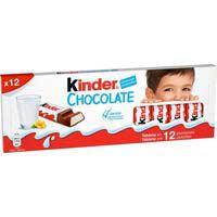 Xocolatina infantil T12 KINDER, caixa 151,2 g
