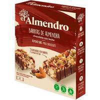 Barreta de xocolata amb llet L'AMETLLER, 4 vostès, caixa 100 g