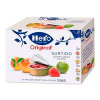 Confitures HERO, porcions pack 8x25 g