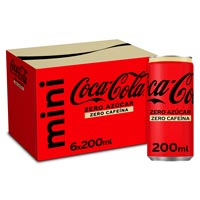 refresc cola COCA COLA zero zero p6x20cl