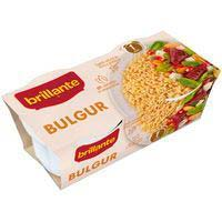Vasito de bulgur BRILLANTE, pack 2x125 g