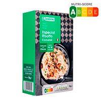 Arroz risotto carnaroli EROSKI, paquete 1 kg