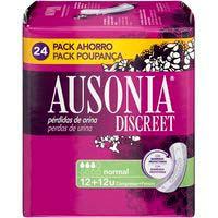 Compresa normal AUSONIA Discreet, paquete 24 uds.