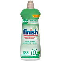 Abrillantador eco 0% FINISH, botella 400 dosis