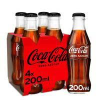 Refresc de colazeroCOCA-COLA,pack4x20cl