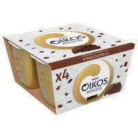 Mousse de chocolate-choco OIKOS, pack 4x55 g