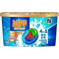 Detergente antiolores en cápsulas WIPP, caja 30 dosis