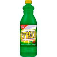 Lejía pino ESTRELLA, botella 1,35 litros