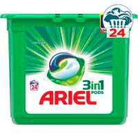 Detergente cápsulas ARIEL 3N1 24 dosis