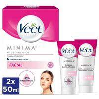 Kit de depilació facial pell normalVEET,pack1 uni