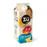 Néctar de piña-mango sin azúcar añadido ZÜ, brik 1,75 litros