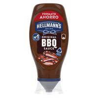 Salsa barbacoa HELLMANN'S, bocabajo 495 g