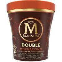 Helado pint double moccachino MAGNUM, tarrina 310 g