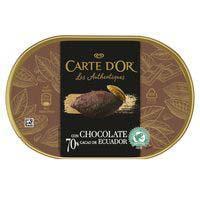 Helado de chocolate de Ecuador CARTE D'OR, tarrina 425 g