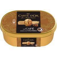 Helado de café de Colombia CARTE D'OR, tarrina 415 g