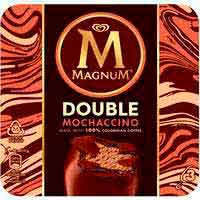 Helado double moccachino MAGNUM, 3 uds., caja 219 g