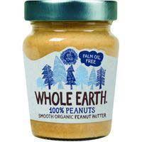 Crema de cacahuete bio WHOLE EARTH, frasco 227 g