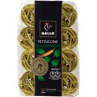 Fettuccine de espinaca GALLO, paquete 450 g