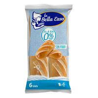Pan de leche 0% BELLA EASO, 210g