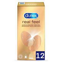 Preservativos real feel DUREX, caja 12 uds.