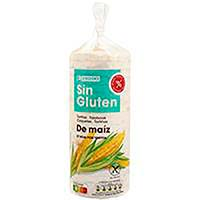 Tortetes de blat de moro sense gluten EROSKI, paquet 130 g