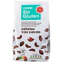 Pètals de xocolata sense gluten EROSKI, bossa 400 g