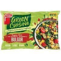 Veggie bowl burgur GREEN CUISINE 350g