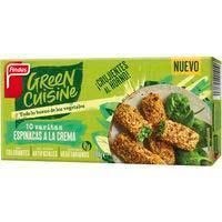 Varetes d espinacs i crema GREEN CUISINE 284g