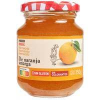Melmelada de taronja EROSKIBASIC, flascó 350 g