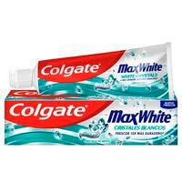 Dentifrici cristalls blancs COLGATE Max White, tub 75 ml
