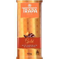 Xocolata amb llet-avellana TRAPA, tauleta 100 g